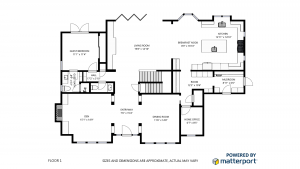 Matterport Schematic Floorplan