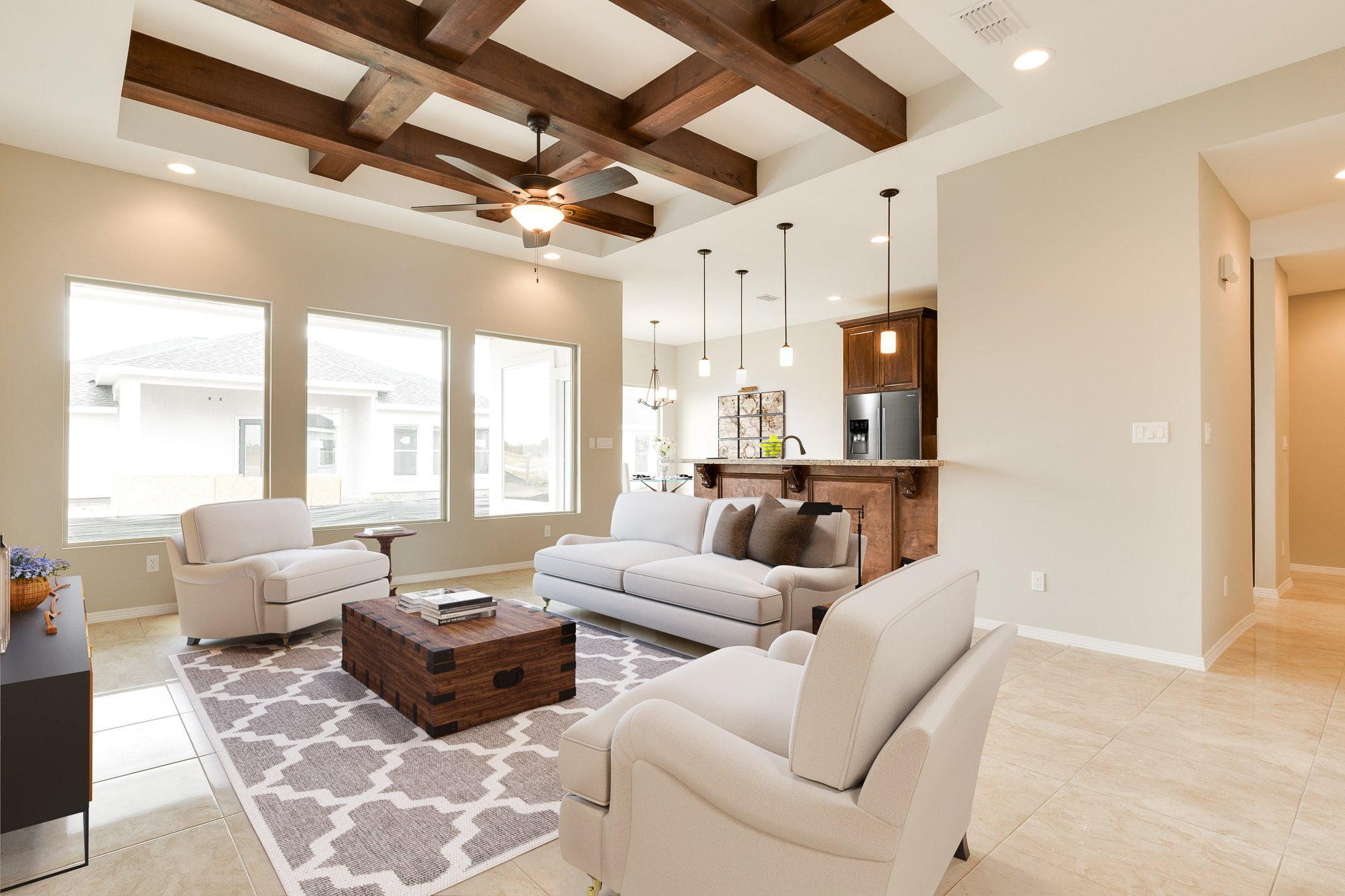 photorealistic virtual staging for real estate photograph rgv